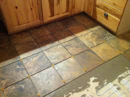 Heated Kitchen Floor Heated Tile Floor Install With Well Groomed Floor Heating Cable