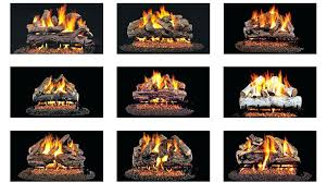 birch gas fireplace logs gas log sets ca ca