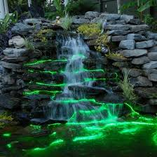 diy small water feature ideas. 10-foot rgb color changing invisiled palette outdoor 24v tape light, wet location. water featurespool diy small feature ideas