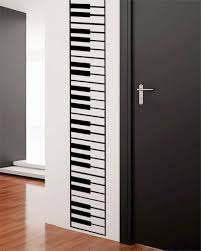 on piano themed wall art with music themed home decor