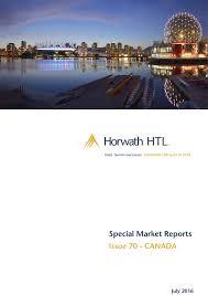 Market Report: Canada | Horwath HTL Corporate