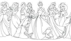 free printable disney princess pictures free coloring pages all princess coloring pages coloring pages with all