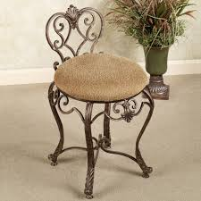 vanity stool chair and with swivel chairs wheels seat benches upholstered vanity stools with casters