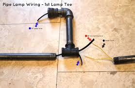 diy pipe lighting. charming diy pipe lamp how to make an industrial floor about orange diy lighting