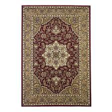 kas rugs medallion red indoor oriental area rug common 10 x 13 actual