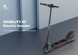 €232 with coupon for <b>NIUBILITY N1 Electric</b> Scooter 7.8Ah Battery ...