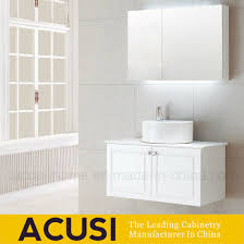 high end sanitary ware plywood lacquer white bathroom vanities acs1 l60