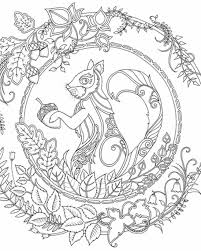 Enchanted Forest Coloring Pages Bing Images