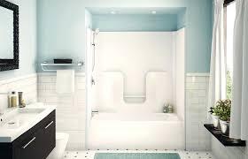 fiberglass tub shower one piece bathroom remodel medium size fiberglass bathtub shower combo pool design ideas
