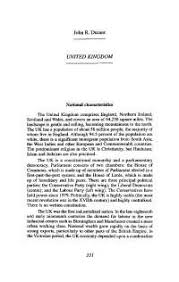 ecofascism an enduring temptation essay united states  united kingdom natiional characterstics lecture notes united kingdom philosophy john r durant