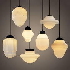 asymmetrical bathroom pendant lighting. art deco milk glass pendant light asymmetrical bathroom lighting