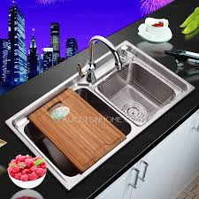 Best Nickel Brushed Stainless Steel Kitchen Sinks Double Sinks Best Stainless Kitchen Sinks