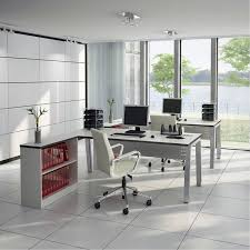office wall furniture. terrific home office furniture design presenting elegant double white polished wood l shaped ikea desk computer wall o