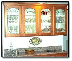 stained glass for kitchen cabinets large size of cabinets putting glass in kitchen cabinet doors stained