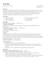 Warehouse Technician Resume Professional Facilities Technician Templates To Showcase Your Talent 21