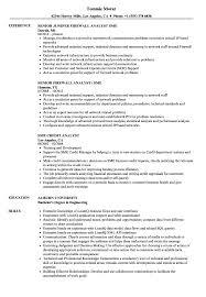Analyst Sme Resume Samples Velvet Jobs