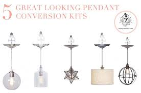 convert recessed light pendant. 5 Great Pendant Conversion Light Kits - PERFECT For The Silly Recessed Over Kitchen Sink! Screw Adapter Into And VOILA! Convert A