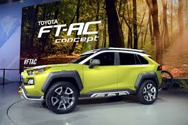 New Toyota FT-AC Concept Is A Macho Compact SUV For Adventurers ...