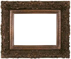Wooden Picture Frames Inside Vintage Antique Frame Ta Siliver