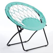 simple by design circle bungee chair brt blue