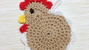 Crochet Chicken Pattern Magnificent Decorating