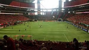 Atl Utd Seating Chart Mercedes Benz Stadium Section 118 Atlanta United