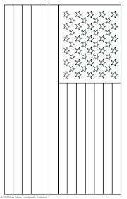 Coloring Page Of The American Flag Zupa Miljevcicom