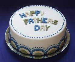 Simple Fondant White Blue Green Cakes And Sweets Fathers Day