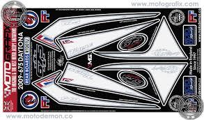 Triumph Daytona 675 2006 Motorcycle Rear Seat Unit Paint Protector Rt001u
