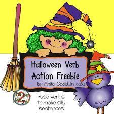 Verb Action Halloween Verb Action