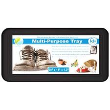 Boot Tray Shoes Mat Ideal For Plants Entryway Pet Food Dog Water Bowls Cat  Litter Wet