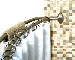 curved double shower rod curved double shower curtain rods shower curtain rod and hooks gold rod double curved shower curtain glacier bay double curved