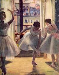 arts painting three rs in a rehearsal room by edgar degas