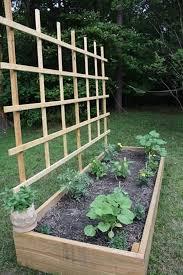 do it yourself raised garden beds. DIY Raised Bed With Trellis Do It Yourself Garden Beds