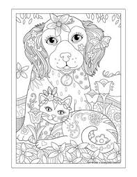 Small Picture dogcoloring cute kitten Pinterest Adult coloring Coloring