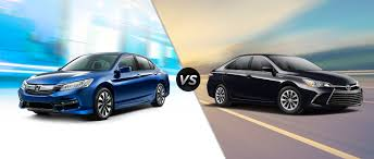 Honda Accord Hybrid vs 2017 Toyota Camry Hybrid