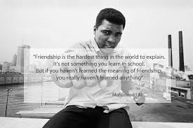 Famous Quotes For Friendship