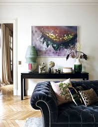Paris Living Room Decor Decorating Parisian Style Chic Modern Apartment By Sandra Benhamou