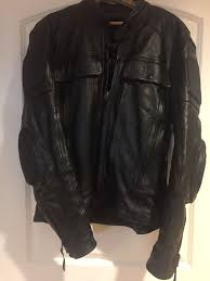 leather king motorcycle riding jacket w thinsulate and armor