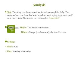 cat in the rain ernest hemingway essay short story analysis cat in the rain by ernest hemingway the