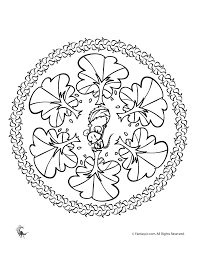 Small Picture Fall Mandala Coloring Pages for Kids and Adults Woo Jr Kids