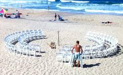 beach wedding chairs. We\u0027re Different! Beach Wedding Chairs