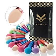 fashion makeup brush makeup sponge blender stick powder puff make up foundation blush