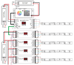 rf wifi to dmx led controller sr 2816 wiring diagram