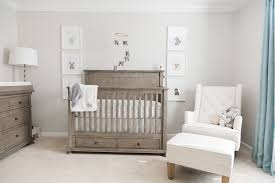 grey furniture nursery. This Chic Grey And Blue Nursery For A Baby Boy Features Restoration Hardware Furniture, Furniture