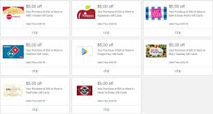 expired meijer 50 in select gift cards save 5 domino s google play bath body works more gc galore