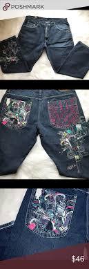 Mens Designer Jeans Size 46 Mens Artful Dodger Graphic Jeans Size 38 30 Coolest Jeans