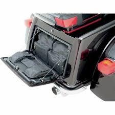 Saddlemen <b>Rear Trunk Lid Organizer</b> Luggage Cargo Bags Harley ...