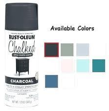 Rustoleum Chalked Paint Colors Rust Chalk Furniture Paint