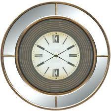 battery operated digital wall clocks battery wall clocks ltd twilight mirror wall clock a liked on